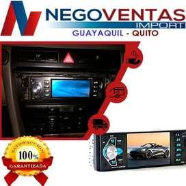 RADIO DE UN DIN DE 4 PLG OPCION CAMARA DE RETRO USB , SD , BT ,AUX
