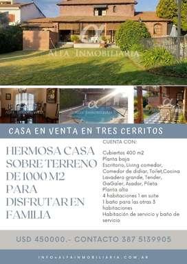 Alfa Inmobiliaria Vende! Oportunidad Casa en Barrio 3 Cerritos