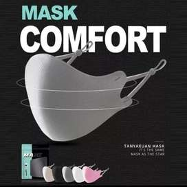 Máscara antifluidos, lavable, ajustable