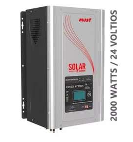 VENDO inversor híbrido 2000 watts 24vdc 120vac