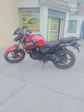Moto rojo  2020 Thunder f16 250