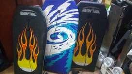 SUNSET BODYBOARD ROCKET SURF TABLA,TRES UNIDADES DE TAMAÑO, 50 x102 ,45x92 ,30x45