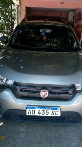 Fiat Mobi Way 1.0, 2019, 10000 Km, único dueño.