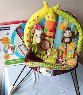 Combo coche, corral y silla para bebe