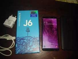 Vendo Samsung j6 libre