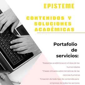 Asesoría Tesis, Trabajos, Edición Apa, V