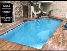 Se Vende Casa Urdenor 1 de 580m2 con piscina $225.000