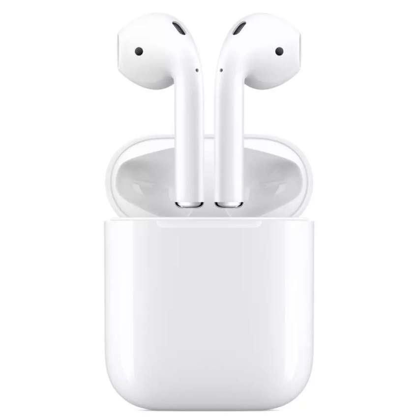Apple Airpods de 2 Generación Originales con estuche de carga lightning. En perfecto estado. 0