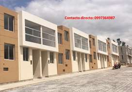CASA DE VENTA A ESTRENAR APLICA CREDITO BIESS-ENTREGA INMEDIATA SECTOR STA. MONICA CONOCOTO