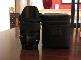Lente Sigma 35mm. 1.4 Art p/canon