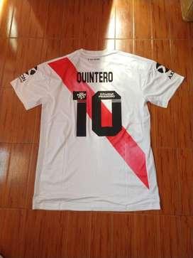 Camiseta River Plate 10 Quintero Oficial