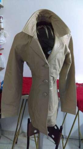 chaqueta cuero dama