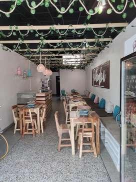 Venta de entable completo para negocio (cafe- cafetería)