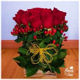 Arreglos florales - Tapete de Rosas Vintage