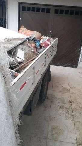 Se retiran escombros y desecho vegetal dentro y fuera de la ciudad