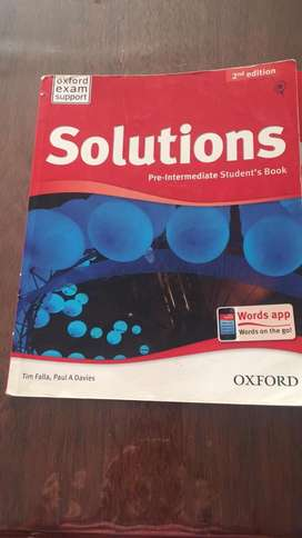 Solutions PreIntermediate 2nd Edition Workbook