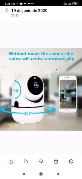 Camara de seguridad vigilancia 1080p FULL HD Robótica con seguimiento inteligente , autonomo, inteligencia artificial