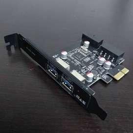 Tarjeta PCI Express de 2 puertos
