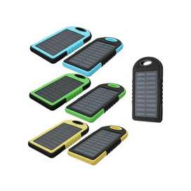 Power bank cargador solar