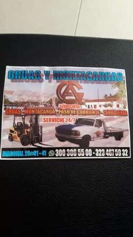 Servicio de grúa nivel  nacional 24/7
