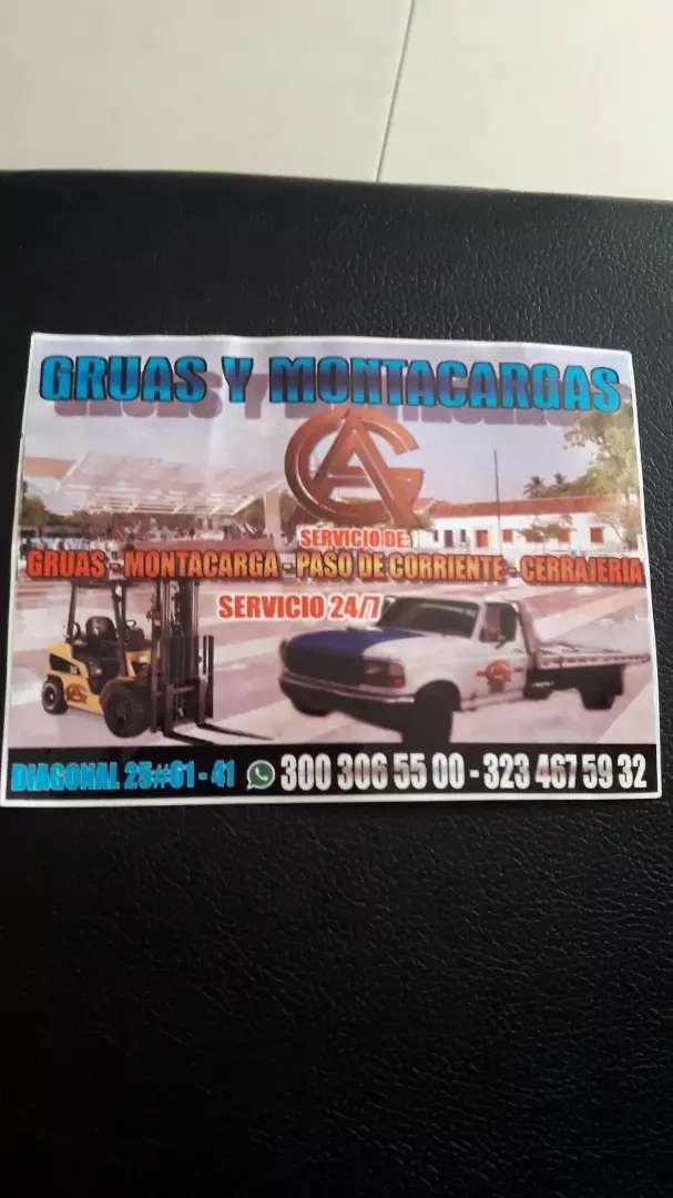 Servicio de grúa nivel  nacional 24/7 0