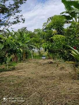 Vendo terreno en la via quito km17