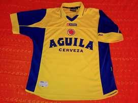 Camisa Lotto selección Colombia temporada 2003