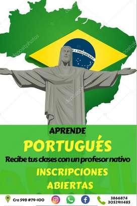 CLASES DE PORTUGUES PERSONALIZADAS