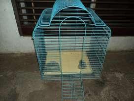 jaula para loro 58 cm de alto x 50 cm ancho 40 cm prof