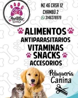 Huellitas pet shop y estética canina