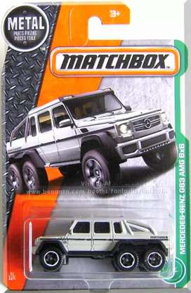 Solo ibague,Mercedes Benz g63 AMG 6x6 matchbox
