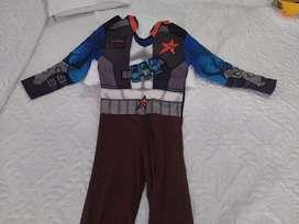 Disfraz de bajoterra slugterra niño 6-7 años