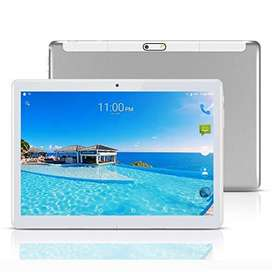 YELLYOUTH Android Tablet 10 inch with Sim Card Slots 4GB RAM 64GB ROM Octa Core 3G