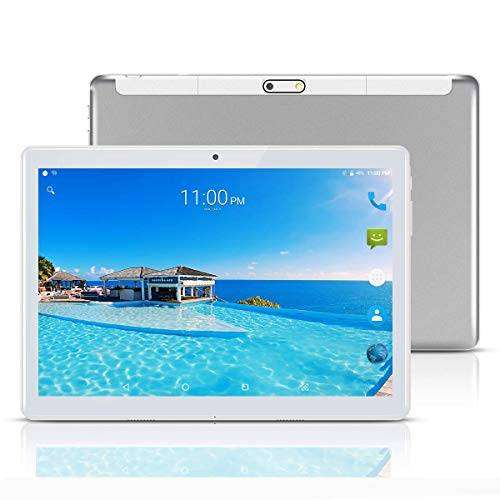 YELLYOUTH Android Tablet 10 inch with Sim Card Slots 4GB RAM 64GB ROM Octa Core 3G 0