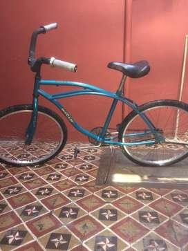Bici semi nueva