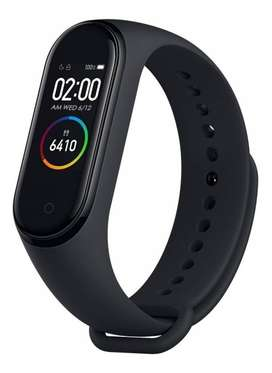 Smartwatch Xiaomi Mi Band 4 Sumergible Tactil - negro - LOCAL NVA CBA