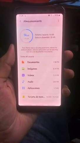 Samsung A8 2018 en excelentes condiciones