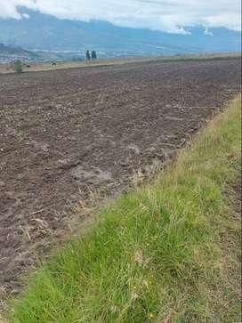 Terreno esquinero en Quinchuqui