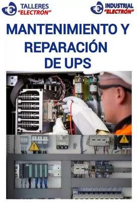 reparacion y mantenimiento de UPS