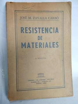 Resistencia De Materiales - Zavalla Carbó
