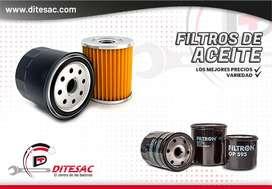 Filtros de aceite y elemento para vehículos Bosch Filpower Daruma Beste