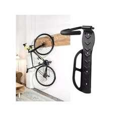 Soporte pared bicicleta + tornillos 30 Kg