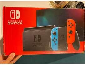 Vendo Nintendo Switch como nuevo