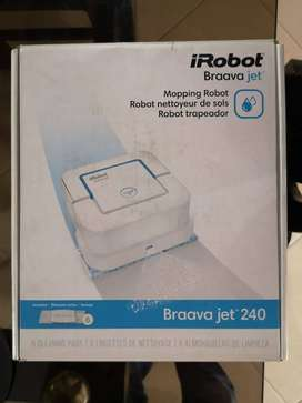 Irobot Braava Jet 240 Trapeadora Automatica - Nueva sin usar
