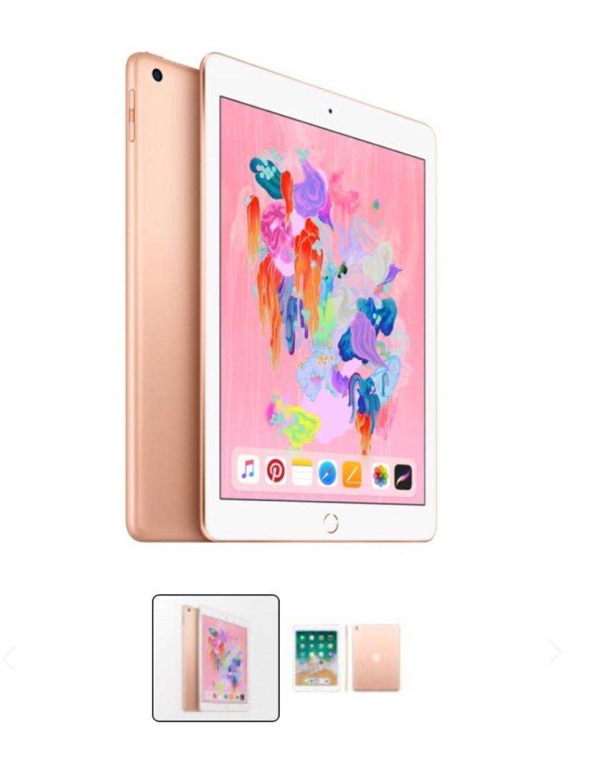 Ipad wi-Fi 32 GB Gold 6ta generacion 9.7 0