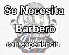 Necesito barbero con experiencia