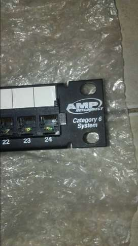 Patchpanel AMP CAT 6