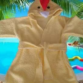 Salidas de baño, ruanas y chaquetas