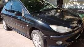 PEUGEOT 206 PREMIUM 1.9 D 5 PT Modelo 2007