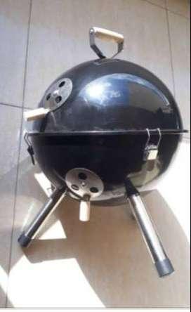 Asador mesa de carbon